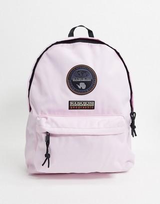 Napapijri Voyage backpack in light pink