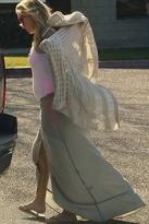 Kettle Black Papersack Skirt in Pinstripe