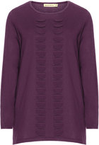 Isolde Roth Plus Size Structured cotton blend sweater