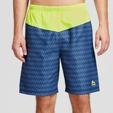 RBX Men's Colorblock Swim Trunks with Compression Jammer