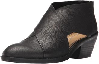 Splendid Women's Danele Monk-Strap Loafer Black 6 Medium US