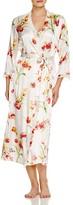 Oscar de la Renta Long Floral Robe