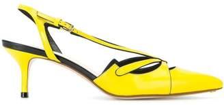 Francesco Russo slingback pumps