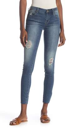 Articles of Society Sarah Cut Hem Skinny Jeans