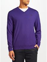 Polo Golf By Ralph Lauren V-neck Jumper, Event Purple