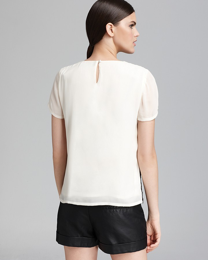 French Connection Tee - Horse Lace