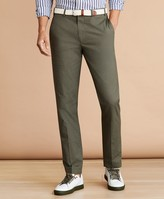 Brooks Brothers Cotton Plain-Front Trousers