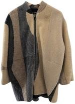 Zadig & Voltaire Beige Shearling Coats