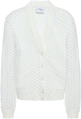 Akris Crochet-knit Cardigan