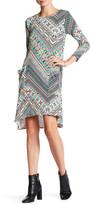 Loveappella Printed Swing Dress