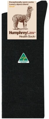 Humphrey Law Alpaca Health Sock Black 3-8