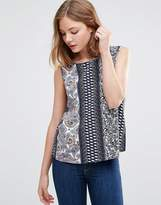 Jdy Floral Sleeveless Top