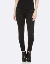 Oxford Jackie Button Detail Pants