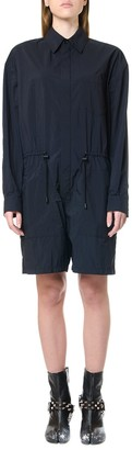 Maison Margiela Black Shirt Style Playsuit