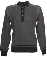 Tom Ford Black Silk And Cachemire Polo Shirt