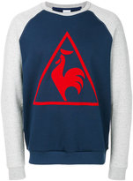 Le Coq Sportif long-sleeved logo sweatshirt