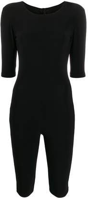 Alchemy fitted zip-up playsuit