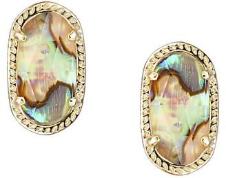 Kendra Scott Ellie Stud Earrings in Abalone Shell