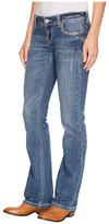 Stetson 818 Fit Medium Light Wash with Bling Bling Women's Clothing