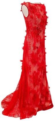Tadashi Shoji \N Red Lace Dresses