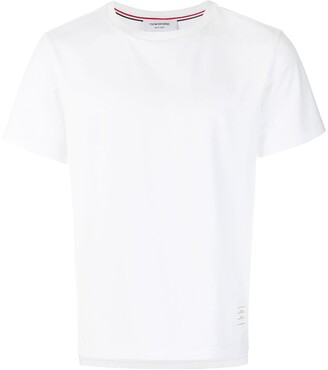 Thom Browne Side Slit Relaxed Short-Sleeve Tee