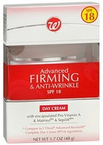 Walgreens Advanced Firming and Anti-Wrinkle Day Cream SPF 18