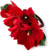Deborah Rhodes Christmas Magnolia Napkin Ring