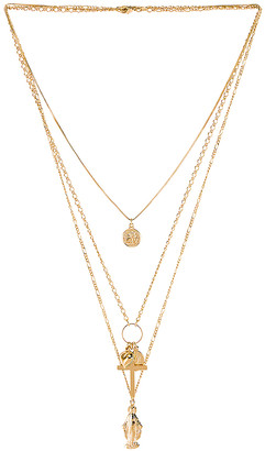The M Jewelers NY Full Saint Layer Necklace