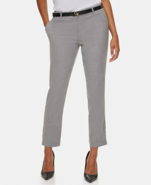 Calvin Klein Slim Ankle-Length Pants