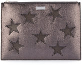 Stella McCartney Star flat document case - women - Polyester - One Size