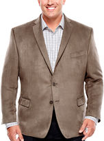COLLECTION Collection by Michael Strahan Faux Suede Sport Coat-Big and Tall