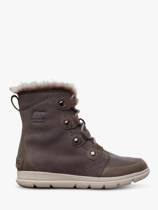 Sorel Explorer Joan Snow Boots, Grey