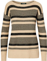 Ralph Lauren Striped Linen-Cotton Sweater