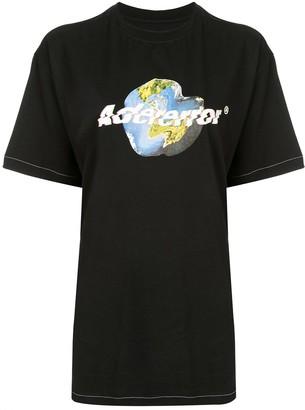 Ader Error Earth print T-shirt