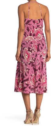 Equipment Allianna Floral Midi Dress