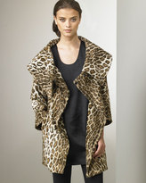 Elizabeth & James Mercer Leopard-Print Coat