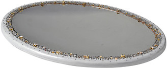 Mike and Ally Mike & Ally Duchess Oval Mirrored Vanity Tray