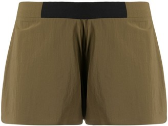 Falke Logo-Printed Running Shorts