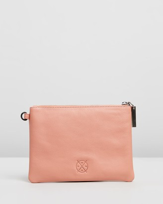 Stitch & Hide - Women's Pink Purses - Cassie Clutch - Size One Size at The Iconic
