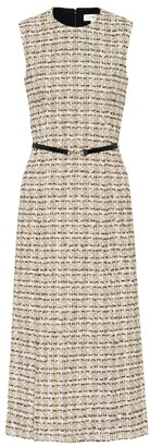 Victoria Beckham Tweed midi dress