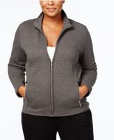 Karen Scott Plus Size Quilted Jacket, Created for Macy's