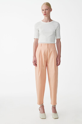 Cos Rounded Cotton Pants