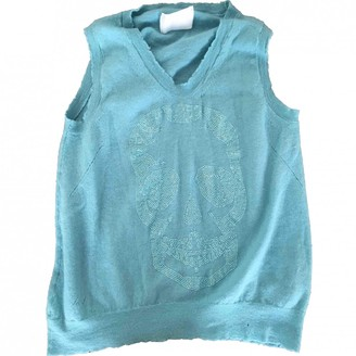 Zadig & Voltaire Turquoise Cashmere Knitwear for Women