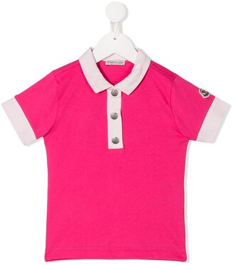 Moncler Enfant Logo Polo Neck