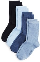 Calvin Klein Holiday Luxury Crew Socks, Set of 4