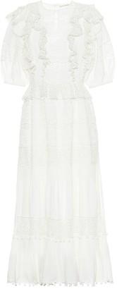 Ulla Johnson Guinivere cotton-blend maxi dress