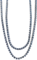 Ice 83 1/5 CT TW Diamond 18K White Gold Opera Necklace