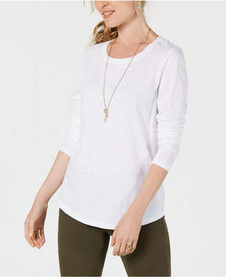 Style&Co. Style & Co. Petite Scoop-Neck Top