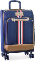 "Tommy Hilfiger Freeport 21"" Expandable Spinner Suitcase"