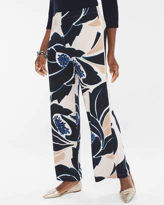 Travelers Classic Cool Floral Palazzo Pants